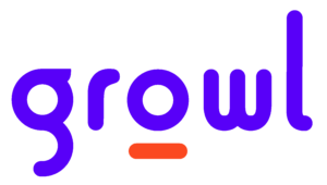 Growl Logo positive red